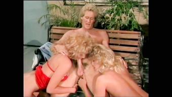 Винтажное порно с блондинистыми бабенками