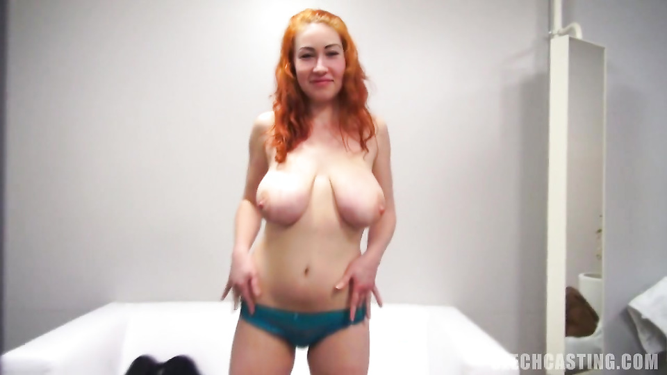 Секс с большегрудой рыжей девушкой фото